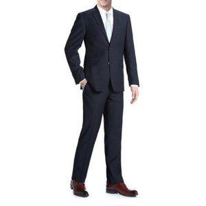 Modern Classic 2 pc Navy Blue Suit Jacket & Pants